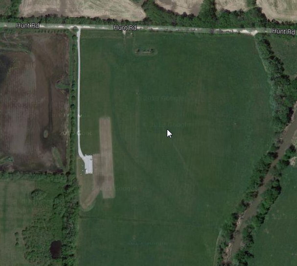 Google Maps of hte field